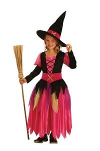 Hexenkleid für Mädchen